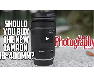 Tamron 18-400mm Lens Video Review