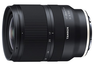 Tamron launched 17-28mm F/2.8 Di III RXD, a ultra wide-angle zoom lens for Sony E-mount cameras